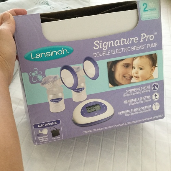 Other - Lansinoh double electric breast pump